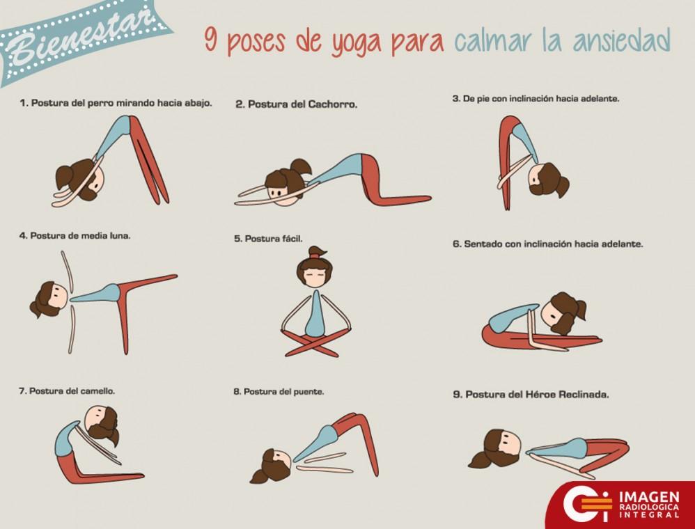 Iddsy Yoga Ansiedad Posiciones De Para Calmar La